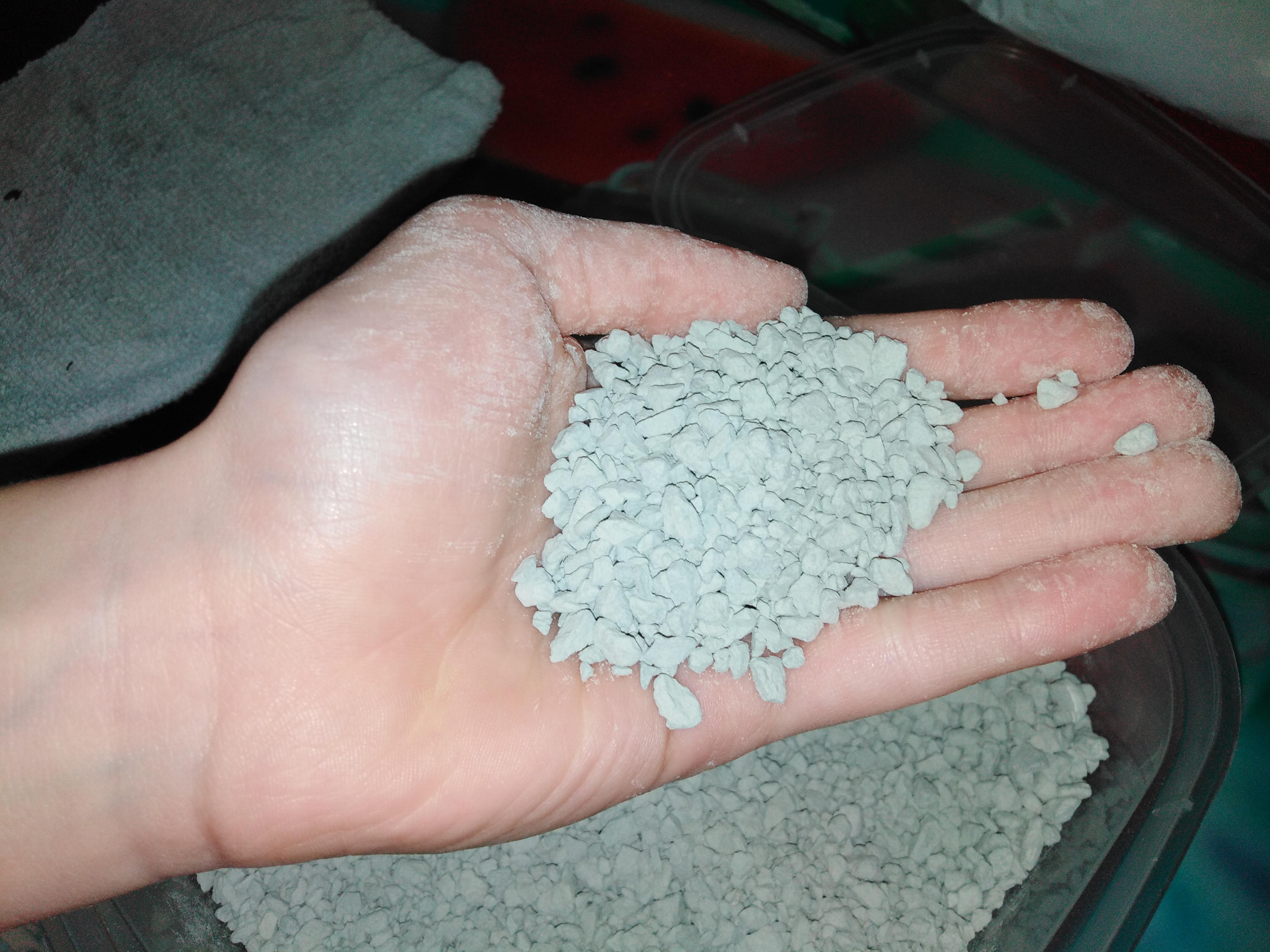 granulés d'argile